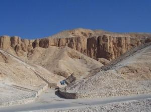 Valley of the Kings in Western Thebes