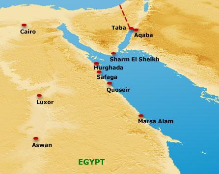 Marsa Alam Holidays Egypt EGYPT - Map of egypt marsa alam