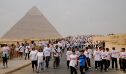 Egypt Cancer Race in the Pyramids 2009
