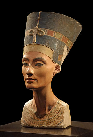 Nefertiti bust, Berlin museum, Germany