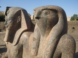 Amenhotep III and Re-Horakhti