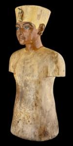 King Tut mannequin