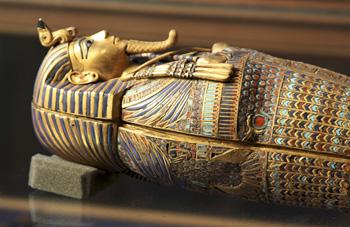 King Tut coffinette