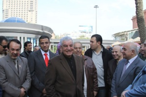 Dr. Hawass inaugurated the new phase of the Egyptian Museum Development Project, which includes a bookstore, cafeteria, restaurant and open air exhibition (Photo: Meghan E. Strong)
