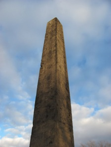 The Central Park obelisk of Thutmose III. (Photo: Richard Paschael and Dorothy McCarthy)