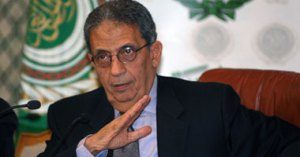 Secretary-General of the Arab League, Amr Moussa