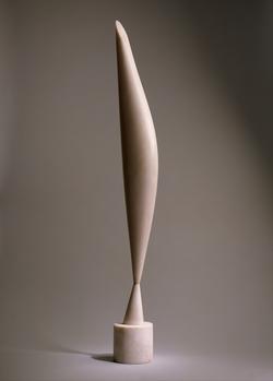 Bird in space by Constantin Brâncuşi