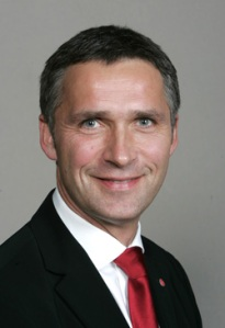 Norway Prime Minister, Jens Stoltenberg