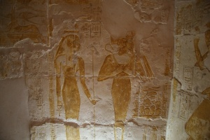 The tomb of Maya in Saqqara