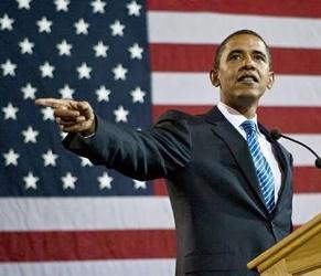 The American President Barack Obama