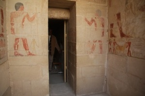 Tomb of Two Brothers in Saqqara. (PHOTO: Mohamed Megahed)