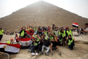 Marathon at Giza Pyramids to support Egypt Tourism