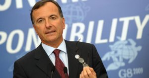 Minister of Foreign Affairs of Italy Franco Frattini