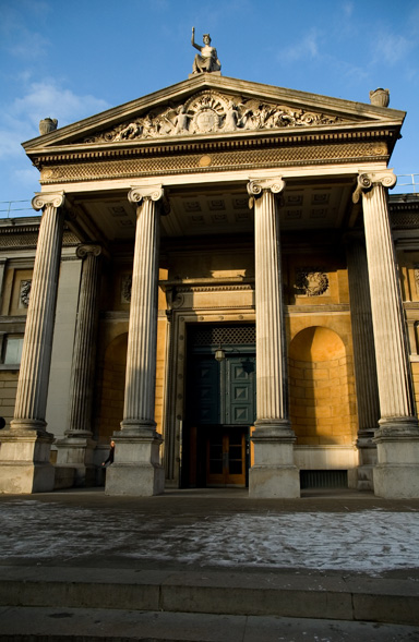 Ashmolean Museum of Art and Archaeology) on Beaumont Street, Oxford, England